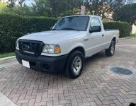 2009 FORD RANGER 2DR REGULAR CAB PICK UP TRUCK WITH MILES