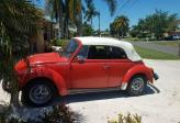 1979 VW SUPER BEETLE COVERTABLE BUG