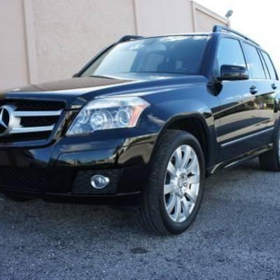 2011 MERCEDES GLK350 NO ACCIDENT