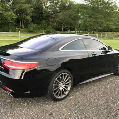 2015 MERCEDES BENZ S CLASS S550 COUPE