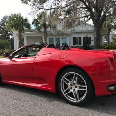 2005 FERRARI F430 SPIDER PRETTY NEW