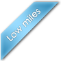 low miles label